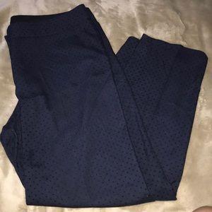 Talbots textures dress pant